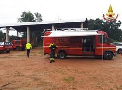 vigili del fuoco ricerca persona