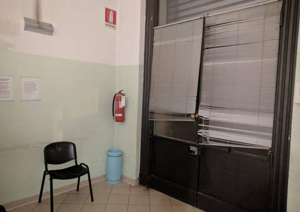 astuti in visita alla guardia medica di busto arsizio