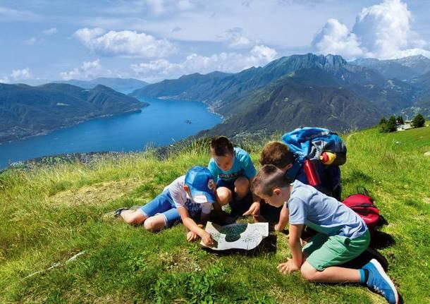 caccia al tesoro Lago Maggiore