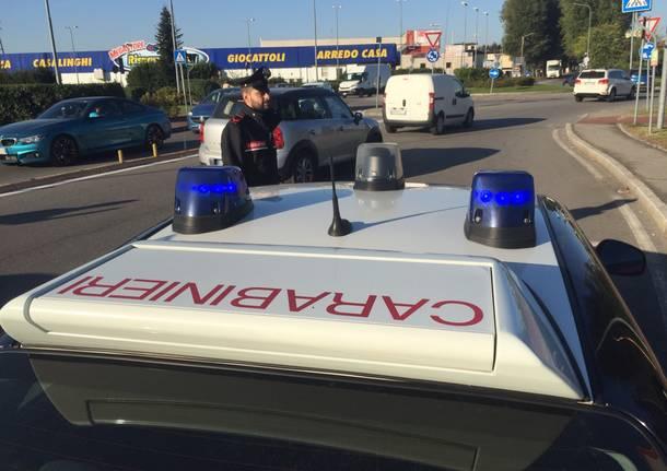carabinieri busto arsizio posto di blocco