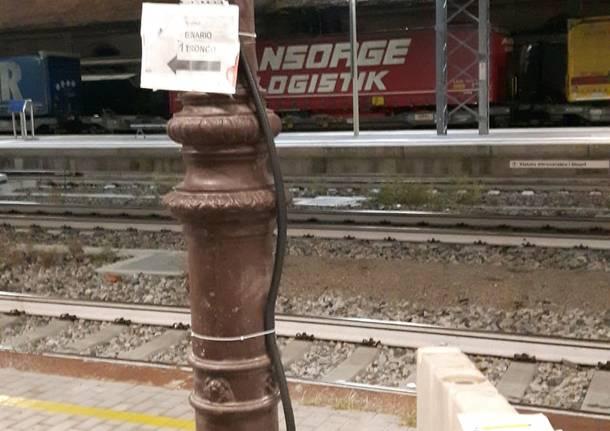La stazione di Luino