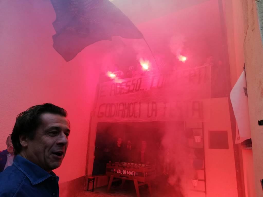 Nicola Berti e la curva di Orino