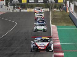 Alessio Rovera a Barcellona nella Porsche Carrera Cup
