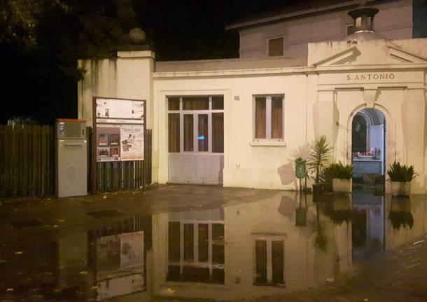Day after a Saronno: pulizia nelle strade e nelle scuole allagate