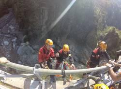 Soccorso alpino, la grande esercitazione in Val d\'Ossola