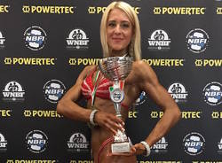 Sabrina Crozzoletto tricolore di body building