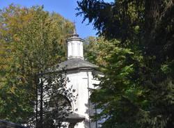 Il Sacro Monte di Orta con i colori dell\'autunno