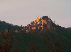 Sacro Monte dopo il tramonto