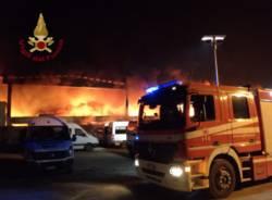 Incendio a Quarto Oggiaro