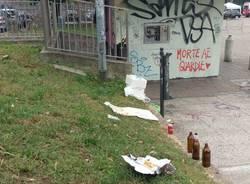 """Degrado in piazza dei Mercati: \""""Bene le pulizie ma servono i controlli\"""""""