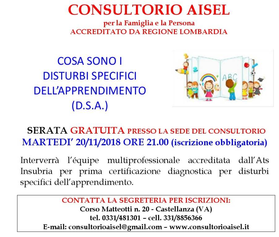 Cosa sono i disturbi specifici dell\'apprendimento (D.S.A.=