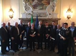 Consegna onorificenze al merito della Repubblica Italiana