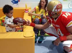 Football americano in pediatria