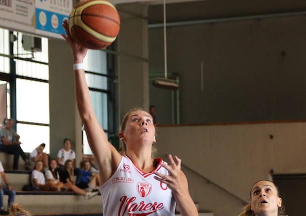 francesca mistò basket scs varese femminile