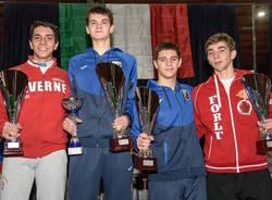 gara nazionale spada cadetti scherma castellanza 2018