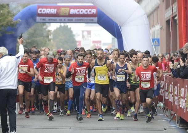 Corsa Milano Bicocca per festeggiare i 20 anni