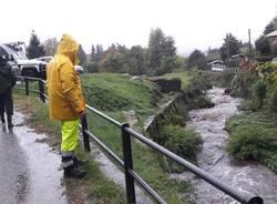 pioggia torrente protezione civile