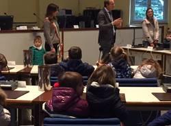 I bambini di Busto visitano il Comune