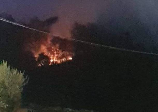 Incendio Induno Olona 2018