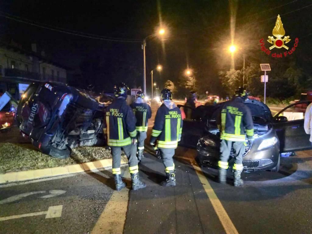 Incidente a Cassano Magnago