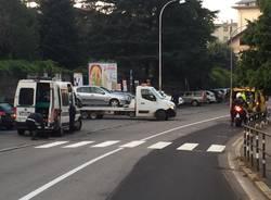 incidente via Bixio 18 ottobre 2018