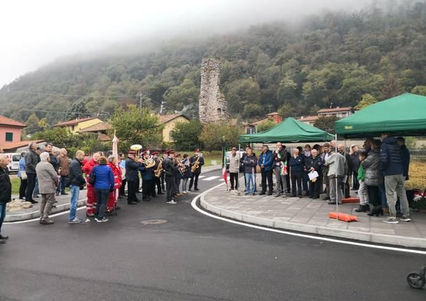 Induno Olona - L'intitolazione di via Bonicalzi