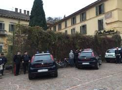 Induno Olona - lo sgombero di Villa Castiglioni