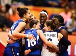 Italia - Cina, semifinale mondiale pallavolo femminile