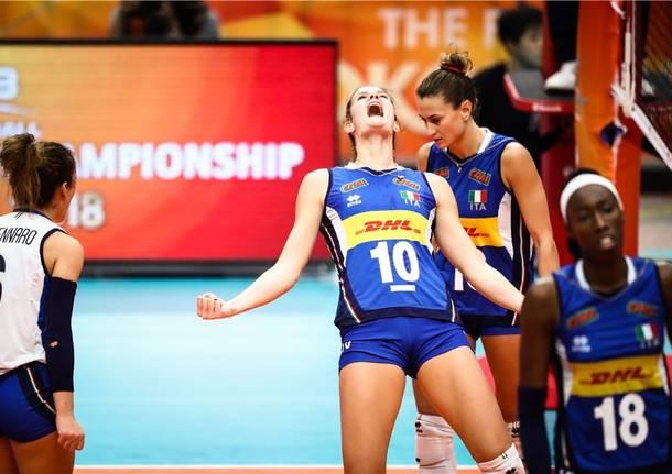 Italia – Cina, le immagini della semifinale