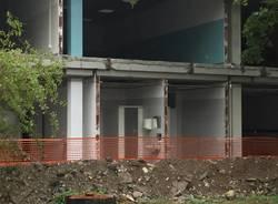 lavori edilizi alla scuola Pellico