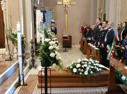 Luvinate - I funerali dell'ex sindaco Binda