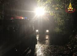 maltempo: interventi dei vigili del fuoco