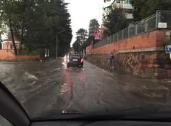 Maltempo, strade e fiumi a Castellanza