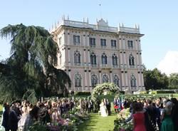 Matrimonio Filippa Lagerback e Bossani a Ville Ponti