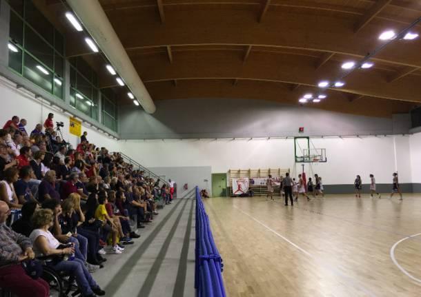 Palestra di Azzate, prima partita femminile A2
