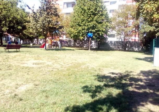 parco giochi corte del ciliegio castellanza