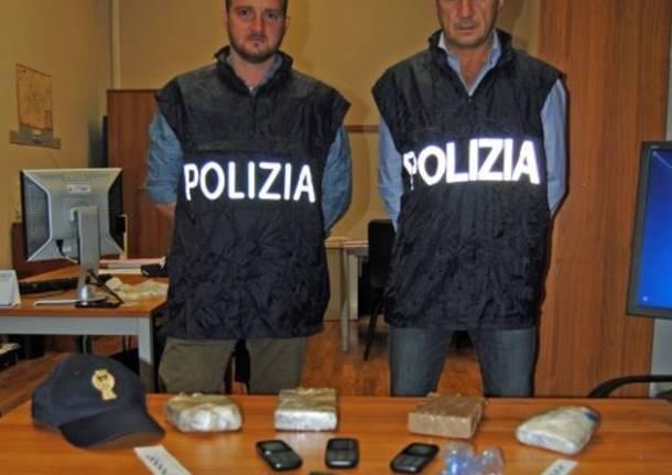 polizia busto arsiozio droga eroina