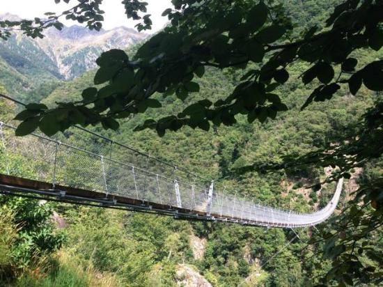 ponte tibetano monte carasso