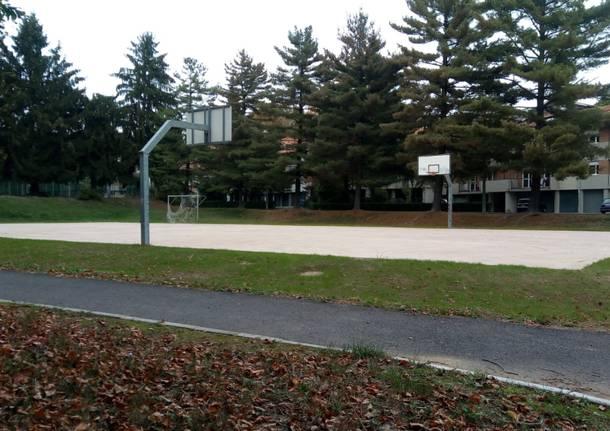 Rinnovati tre campetti sportivi a Varese