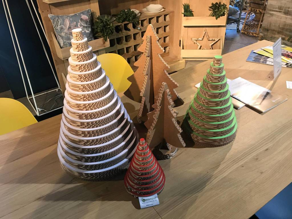 Alberi di Natale 100% riciclabile Lessmore