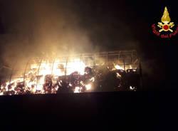 Arcisate - Incendio azienda agricola