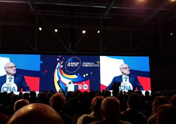 Assemblea Cna 2018 a Milano