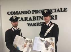 Calendario dei carabinieri 2019