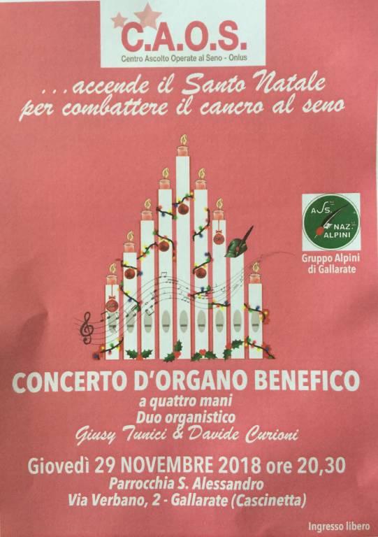 Concerto d\'organo benefico