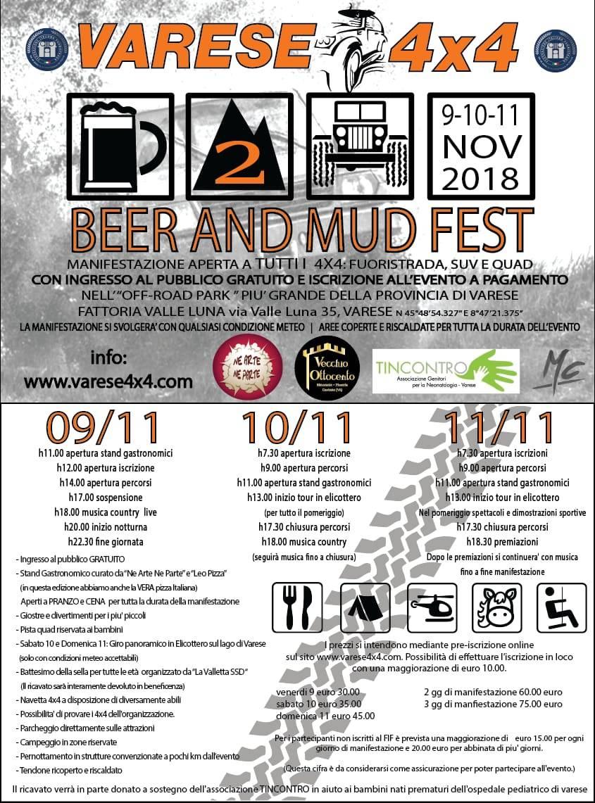 Beer & mud fest