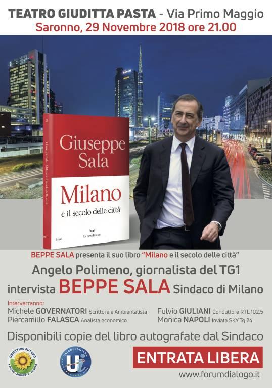 Beppe Sala - Milano e il secolo delle città | Saronno - 29 novembre ore 21