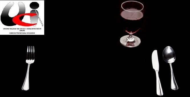 Cena al Buio per vedenti a Biumo Inferiore