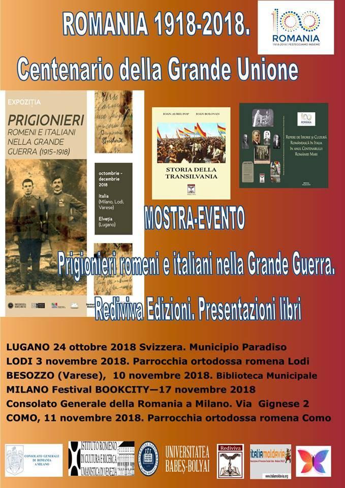 Mostra: PRIGIONIERI ROMENI ED ITALIANI NELLA GRANDE GUERRA