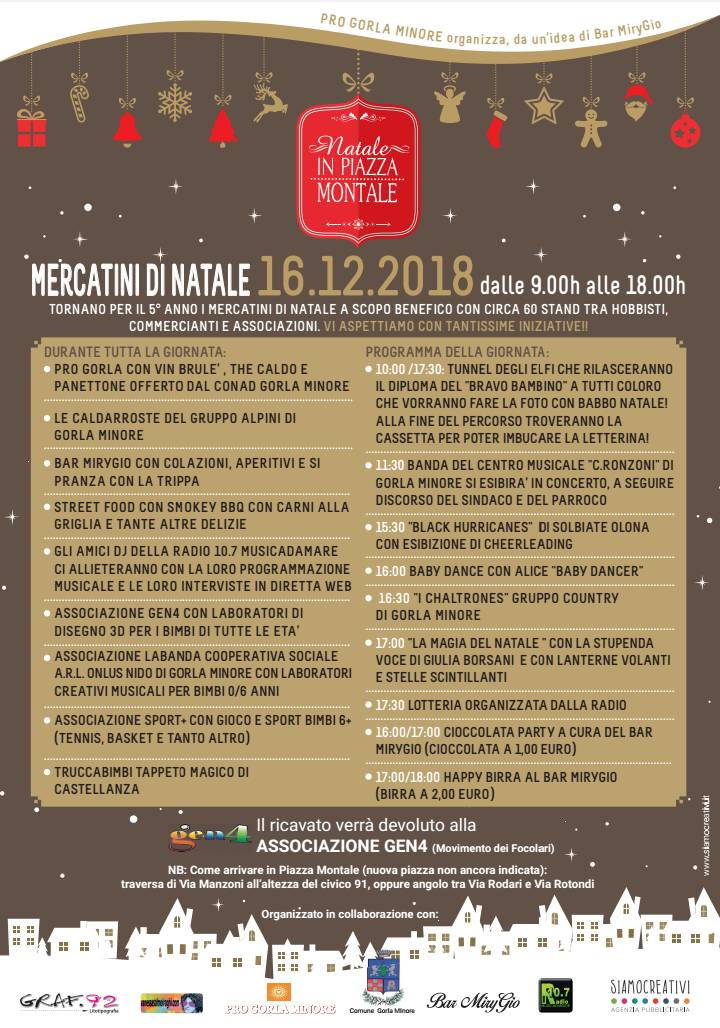 Natale in Piazza Montale