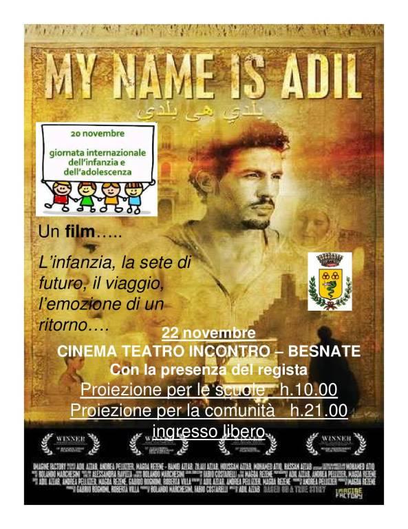 MY NAME IS ADIL
